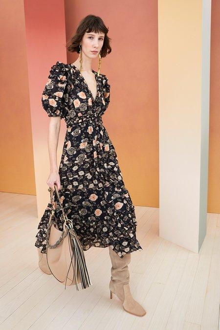 Ulla Johnson Irvette Dress - Noir Floral
