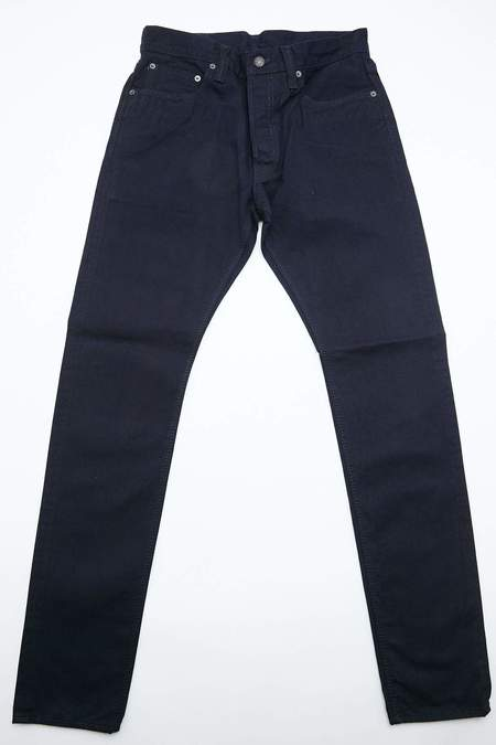 Pure Blue Japan 12oz Selvedge Twill Chino Relaxed Fit - Wash Indigo