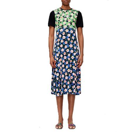 Stine Goya Scout Viscose Jersey Dress - Flower Market Mix