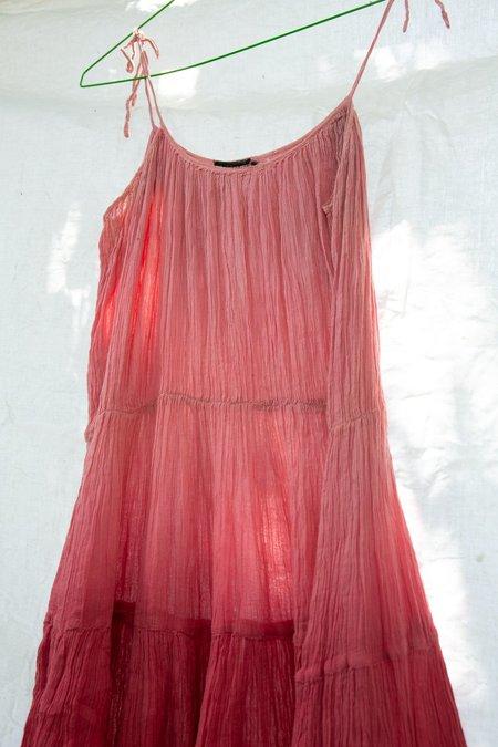 Vintage 1970's Ombré Indian Dress
