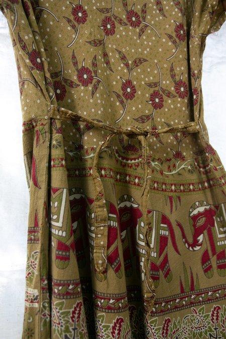 Vintage 1980's Indian Cotton Dress