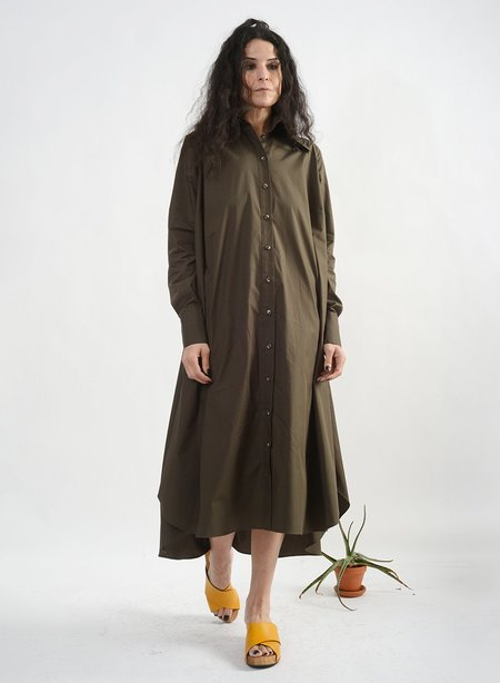 Meg Maven Dress - Dark Olive
