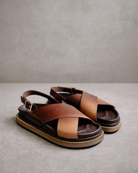 Alohas Marshmallow SANDALS - Brown Degrade