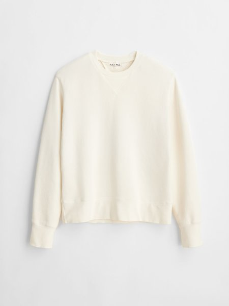 Alex Mill Garment Dyed Crewneck sweater - Natural
