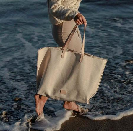 Graf Lantz Hana Canvas Boat Bag - Natural