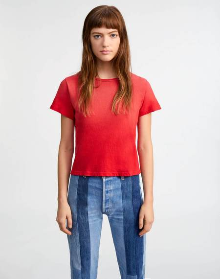 RE/DONE Classic Tee - Faded Crimson