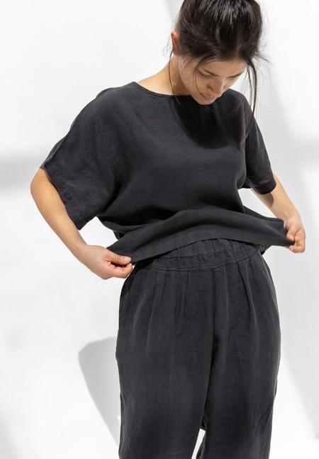 Black Crane Carpenter Pants - Faded Black