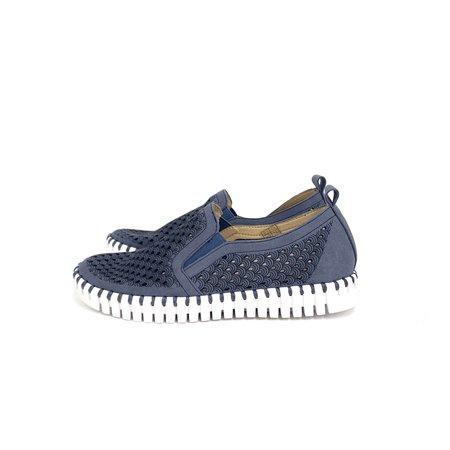 Ilse Jacobsen Tulip Sneakers - Blue/Grey