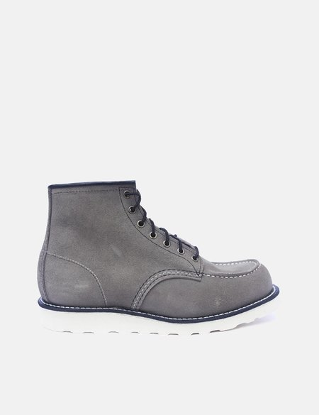 """Red Wing Heritage 6"""" Moc Toe Boots - Slate Grey"""