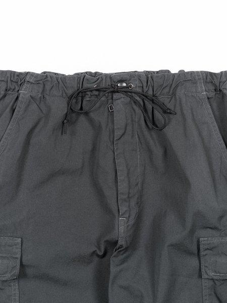 Orslow Easy Cargo Pants - Charcoal Gray