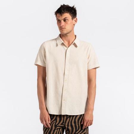 Banks Journal Teen S/S Woven Shirt - natural