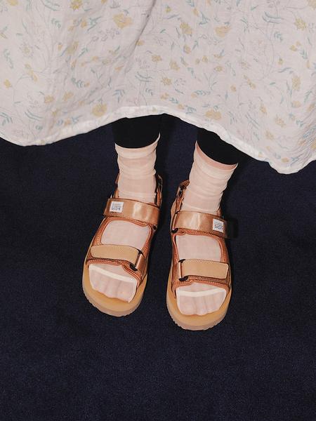 Suicoke Was-V Sandals - Camel