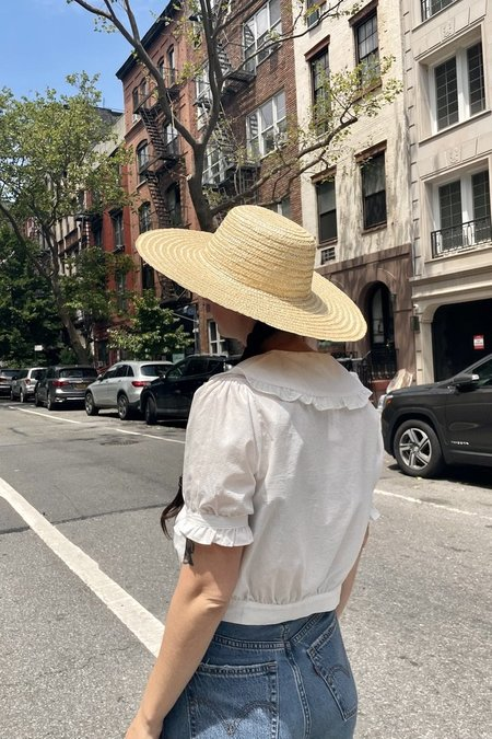 Cloak and Dagger NYC Straw Hat