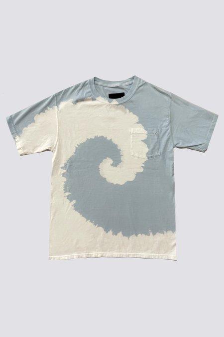 Assembly Tie Dye T-Shirt - Light Blue
