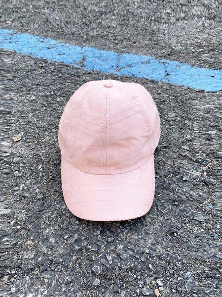 Colorant Solid Silk Slub Fitted Cap