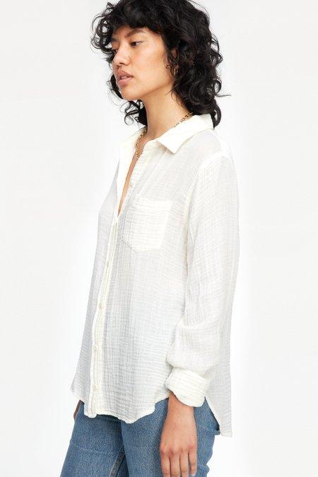 Lacausa Luxe Nash Button Up - Whitewash