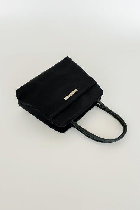 Vintage Nine West Black Mini Purse bag - black