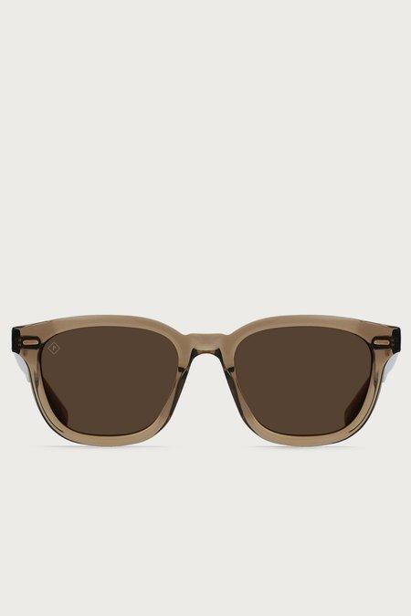 Unisex Raen Myles Sunglasses - Ghost/Vibrant Brown