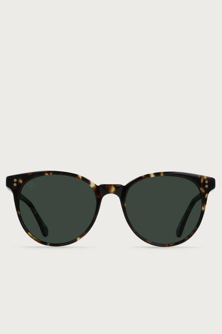 Raen Norie Polarized Sunglasses - Brindle Tortoise/Green
