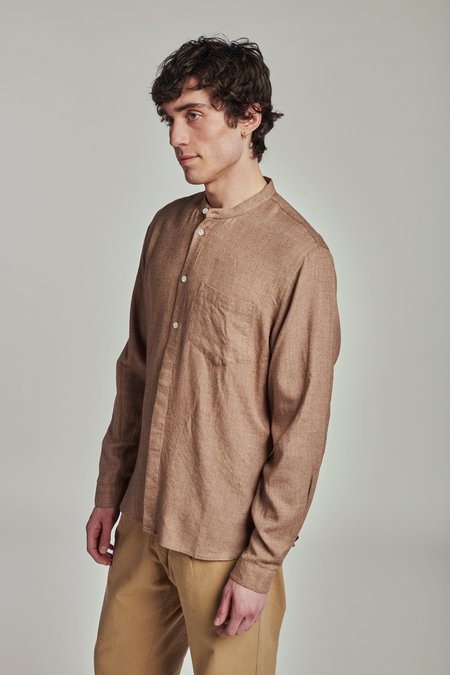 Delikatessen  SS20 The Zen shirt  - BROWN