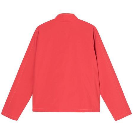 Stussy Panel Track Jacket - Red