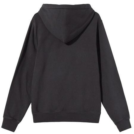 Stussy Smooth Stock Printed Hood sweater - Black