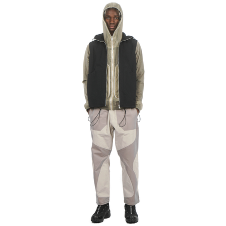 Arnar Mār Jōnsson Ventile Organic Cotton Vest - Black