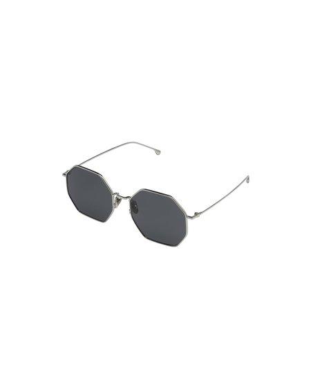 KOMONO Jane Sunglasses - Silver Smoke