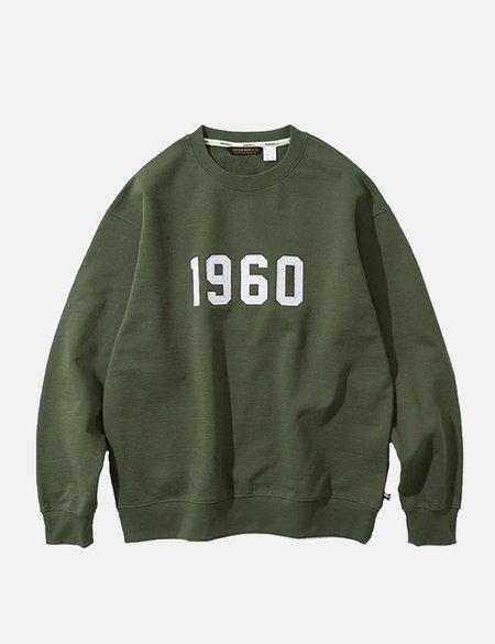 Uniform Bridge 1960 Sweatshirt - Khaki Green