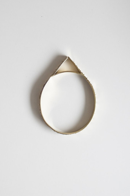 Covet + Keep jessica brass bracelet