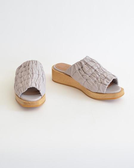 Vamp Shoes Beklina Gathered Wedge Clog - Orchid