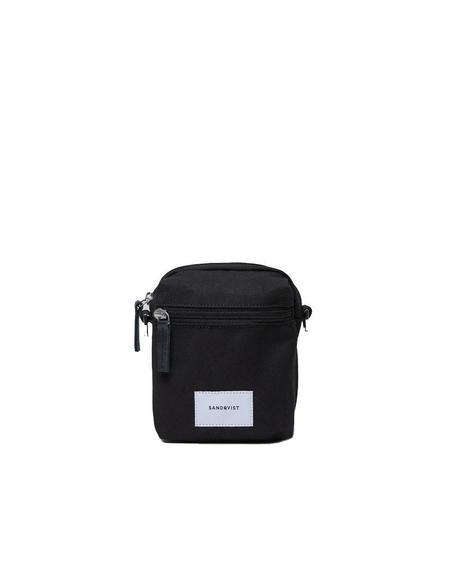SANDQVIST Sixten Shoulder Bag - Black