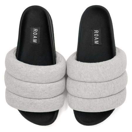 Roam The Puffy slide - Grey Jersey