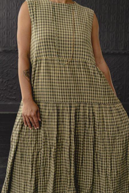 Micaela Greg Tier Dress - Gingham