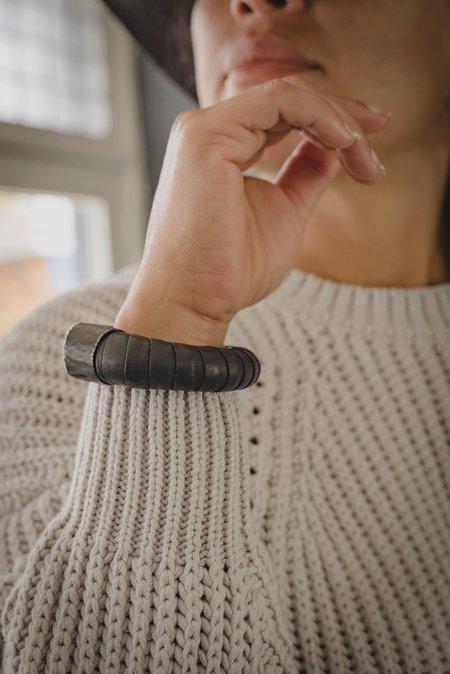 Wildhorn Leather Cuff - Black