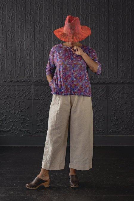Pamela Mayer Raglan Sleeve Top - multi