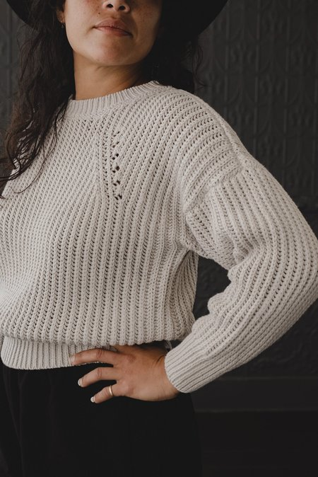 Micaela Greg Rei Pullover Sweater - Mineral