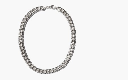 Kindred Black Fieschi Chain - Silver
