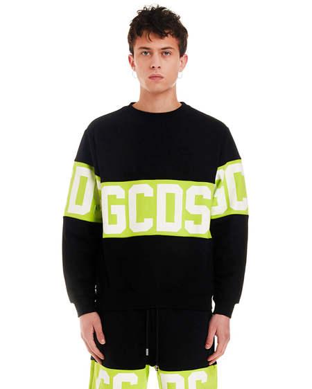 GCDS Print Sweatshirt - Black