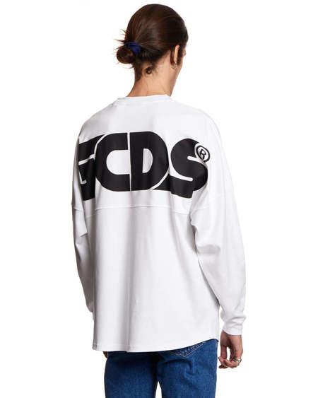 GCDS Long Sleeves tshirt - White