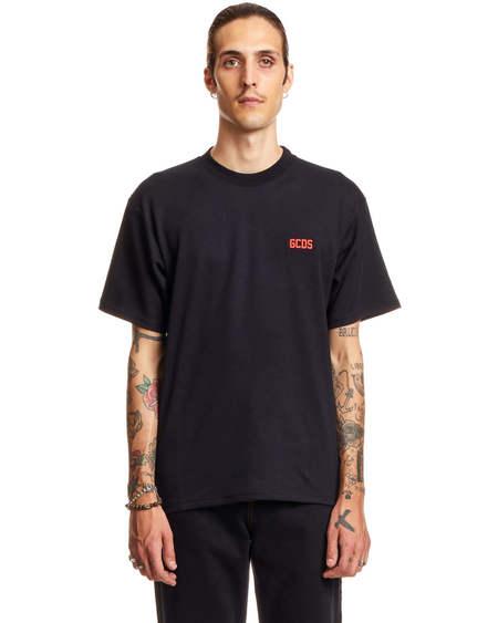 GCDS Print Tshirt - Black