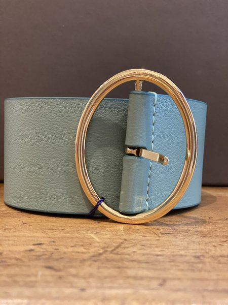 Gusto clothing belt - Aqua