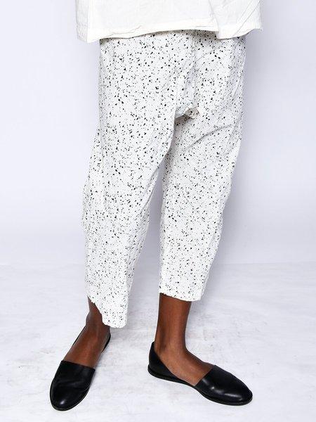 Uzi NYC Pants - Cream Speckle