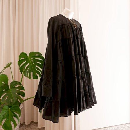 Merlette Soliman Tiered Dress - Black