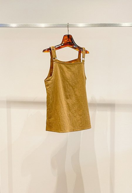 Nicole Kwon Concept Store Structured Tank - Tan
