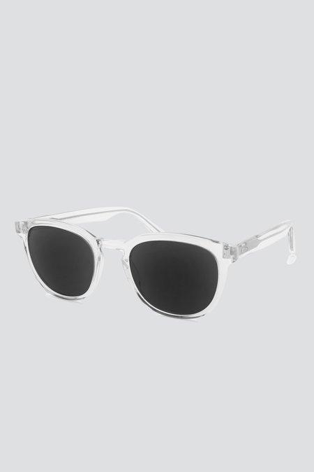 Barton Perreira Acetate Gellert Sunglasses - Crystal
