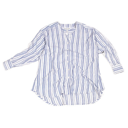 Apiece Apart Varna Oversized Button Up - Stripes