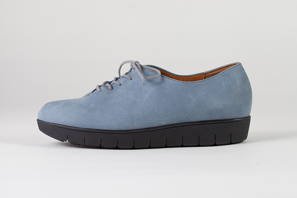HOPP Ocean and White Nubuck Essential Oxford