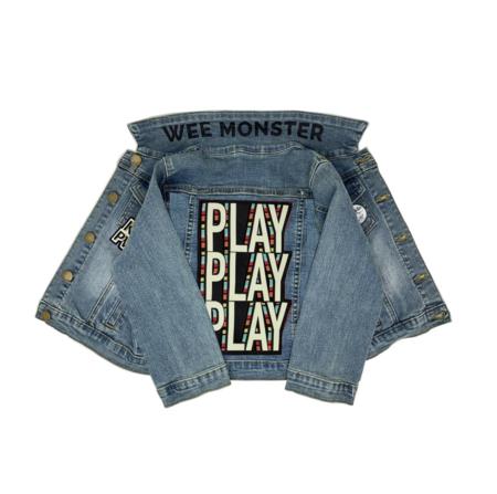 Kids Wee Monster Play Denim Jacket
