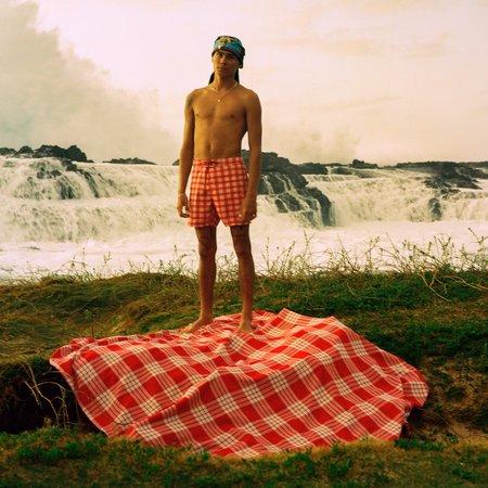 Slowtide Evan Mock x RVCA Palaka Blanket - Print
